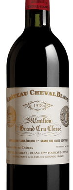 Red wine, Cheval Blanc 1978