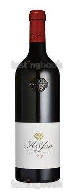 Red wine, Ao Yun 2014
