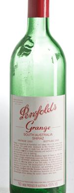 Red wine, Grange Hermitage 1992