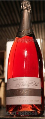Sparkling wine, Rosé Millésime Extra Brut 2006