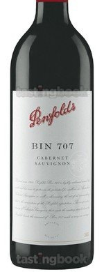 Red wine, Penfolds Bin 707 Cabernet Sauvignon 2014