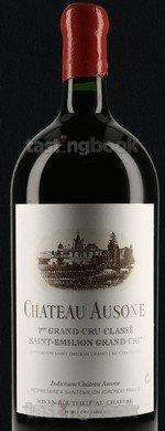 Red wine, Château Ausone 1990