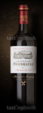 Red wine, Château Fombrauge 2013