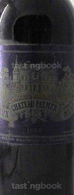 Red wine, Château Palmer 1928