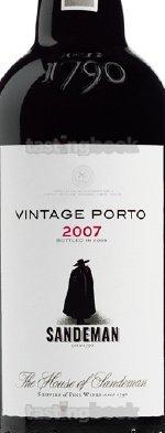 Red wine, Vintage Port 2007