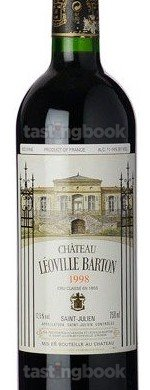 Red wine, Chateau Leoville-Barton 1998