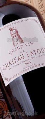 Red wine, Château Latour 2005