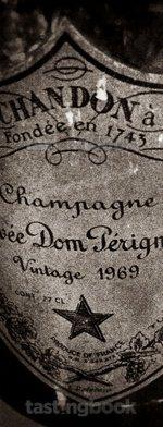 Sparkling wine, Dom Pérignon 1969