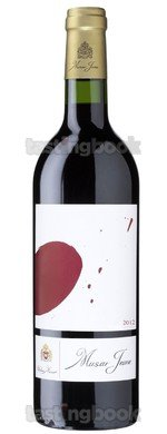 Red wine, Muser Jeaune Rouge 2013