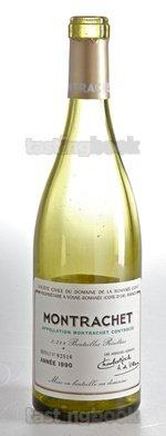 White wine, Montrachet 1990