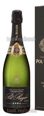 Sparkling wine, Pol Roger vintage 2006