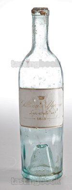 Sweet wine, d'Yquem 1882