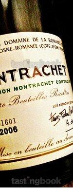 White wine, Montrachet 2006