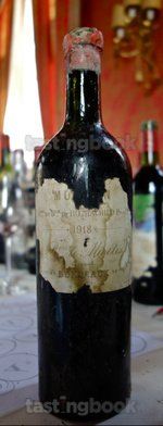 Red wine, Château Mouton-Rothschild 1918