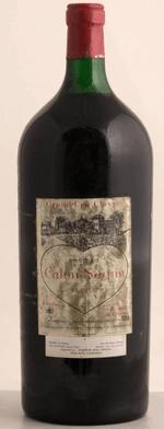 Red wine, Château Calon Ségur 1982