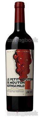 Red wine, Le Petit Mouton 2013
