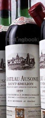 Red wine, Château Ausone 1959