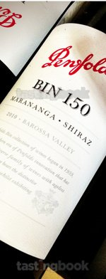 Red wine, Bin 150 Marananga Shiraz 2010