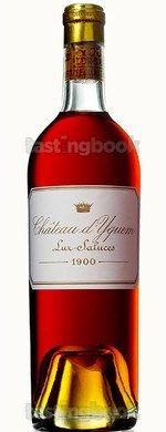 Sweet wine, d'Yquem 1900