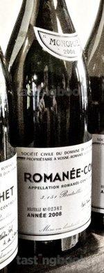 Red wine, Romanée Conti 2008