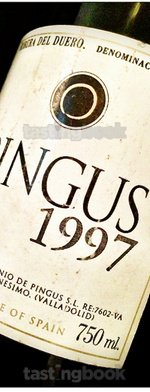 Red wine, Pingus 1997