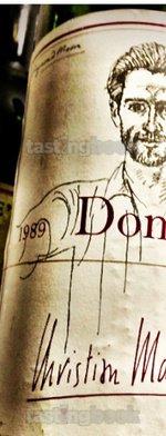 Red wine, Dominus 1989