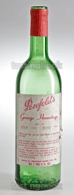 Red wine, Grange Hermitage 1962