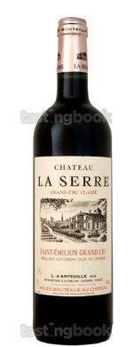 Red wine, Château La Serre 2015