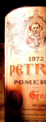 Red wine, Pétrus 1972
