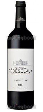 Red wine, Château Pedesclaux 2018