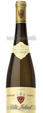Red wine, Pinot Gris Clos Jebsal Vendange Tardive V.V 2005