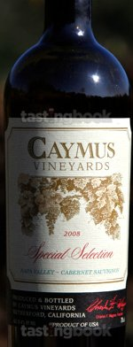 Red wine, Special Selection Cabernet Sauvignon 2008