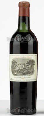 Red wine, Lafite-Rothschild 1945