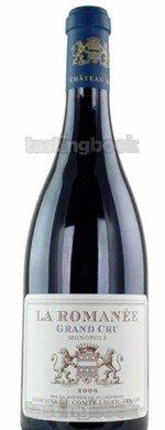 Red wine, La Romanée 2010