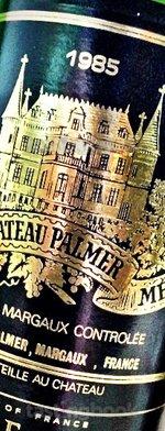 Red wine, Château Palmer 1985