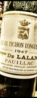 Red wine, Château Pichon Longueville Comtesse de Lalande 1947