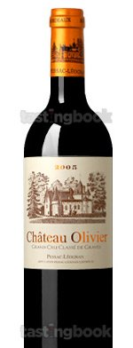 Red wine, Château Oliver 2005