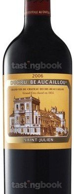 Red wine, Chateau Ducru-Beaucaillou 2006
