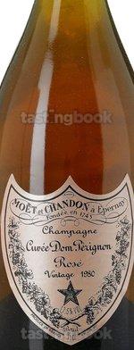Sparkling wine, Dom Pérignon Rosé 1980