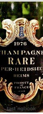 Sparkling wine, Rare 1976