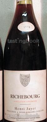 Red wine, Richebourg 1978