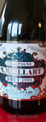Sparkling wine, Cuvée Prestige 1er cru 1995