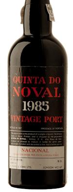 Red wine, Nacional Vintage Port 1985