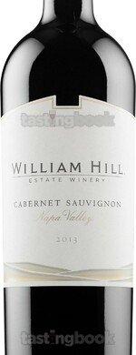 Red wine, William Hill Napa Valley Cabernet Sauvignon 2013