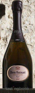 Sparkling wine, Dom Ruinart Rosé 2007