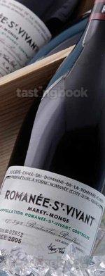 Red wine, Romanee Saint Vivant 2005