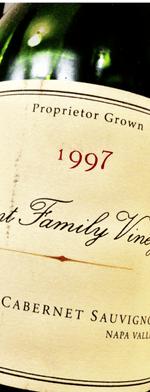 Unknown type, Bryant Family Vineyard Cabernet Sauvignon 1997