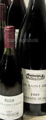 Red wine, Clos St-Denis Grand Cru 1985
