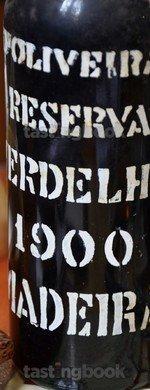 Unknown type, Verdelho Reserva 1900