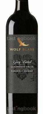 Red wine, Grey Label Langhorne Creek Cabernet Shiraz 2018